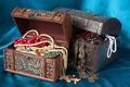 Treasure chests Royalty Free Stock Image
