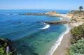 Treasure Island and beach near Montage Resort, Laguna Beach Royalty Free Stock Photo