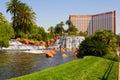 Treasure Island in Las Vegas Royalty Free Stock Photo