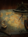 Treasure Map Royalty Free Stock Images