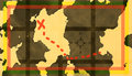 Treasure map Royalty Free Stock Photo