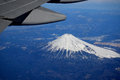 Treasured window seat iconic mount fuji of japan as seen from ft thanks a a clear winter day a Stock Photos