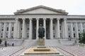 US Treasury Department building Royalty Free Stock Photo