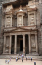 The Treasury in Petra Stock Photography