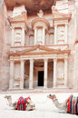 Treasury of Petra Royalty Free Stock Image