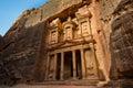 Treasury at Petra Royalty Free Stock Photo
