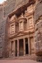 The treasury petra jordan in Royalty Free Stock Photography