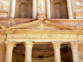 Treasury tomb in Petra. Royalty Free Stock Images