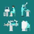 Treatment robotic robot surgery brain flat hospita