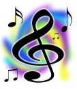 Treble Clef Music Notes Illustration Royalty Free Stock Photos