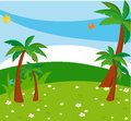 Tree background illustration of with Royalty Free Stock Images
