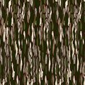 Tree bark texture. Seamless vector background. Royalty Free Stock Photos