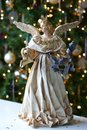 Tree Christmas Xmas Angel Royalty Free Stock Photo
