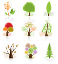 Tree Collection Royalty Free Stock Image
