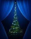 Tree curtains Royalty Free Stock Photo