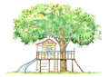 Tree house for kids.