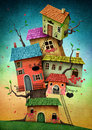 Stock Image Tree houses