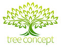 Tree Icon Concept Royalty Free Stock Photo