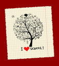 Tree of knowledge, concept of school Stock Photos