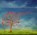 Stock Photography Tree of love