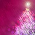 Tree new year and christmas backgrounds snow Royalty Free Stock Images