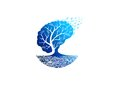 Tree psychology logo