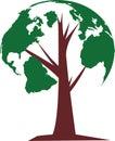 Tree of world Royalty Free Stock Photo