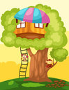 Treehouse Royalty Free Stock Photo