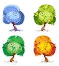 Trees - The Four Seasons