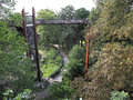 Treetop walkway at kew gardens xstrata london england uk Royalty Free Stock Photography