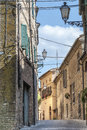Treia (Marches, Italy) Royalty Free Stock Photography