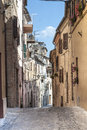 Treia (Marches, Italy) Royalty Free Stock Photo