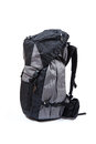 Trekking backpack on high definition isolated on a white backgro background Royalty Free Stock Images