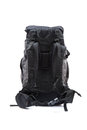 Trekking backpack on high definition isolated on a white backgro background Royalty Free Stock Image