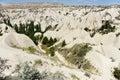 Trekking in cappadocia turkey june one turist the rose valley on june Stock Photos