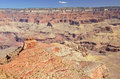 Trekking in Grand Canyon Royalty Free Stock Photo