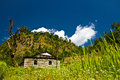 Trekking in Nepal Royalty Free Stock Image