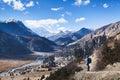 Trekking in Nepal Royalty Free Stock Photo