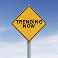 Trending Now Royalty Free Stock Photo