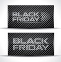 Trendy Black Friday card Royalty Free Stock Image