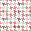 Trendy fabric pattern this is file of eps format Stock Images