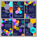 Trendy Geometric Flat Posters