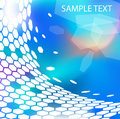 Trendy modern technical background Royalty Free Stock Images