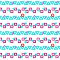 Trendy neon pattern