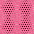 Trendy summer seamless pattern of black and white rhombuses, on a bright pink background, vector