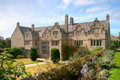 Trerice house a view of an elizabethan manor located in cornwall this was the inspiration for trenwith in the poldark novels Stock Photography