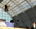 Trespass Big Air Competition (London) Stock Photo