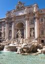 The Trevi Fountain Royalty Free Stock Photo