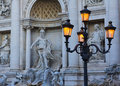 Trevi Fountain Royalty Free Stock Images