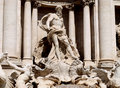 Trevi fountain Royalty Free Stock Photos